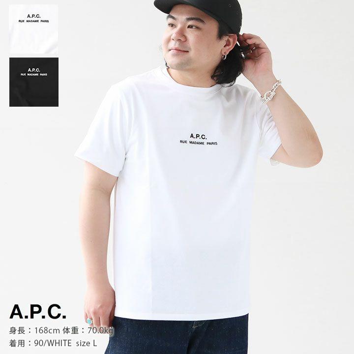 A.P.C.(アーペーセー)  Tシャツ Petite Rue Madame(25082193305)